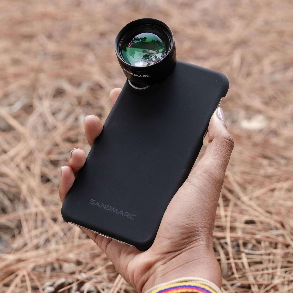 Telephoto lens attachment for iPhone