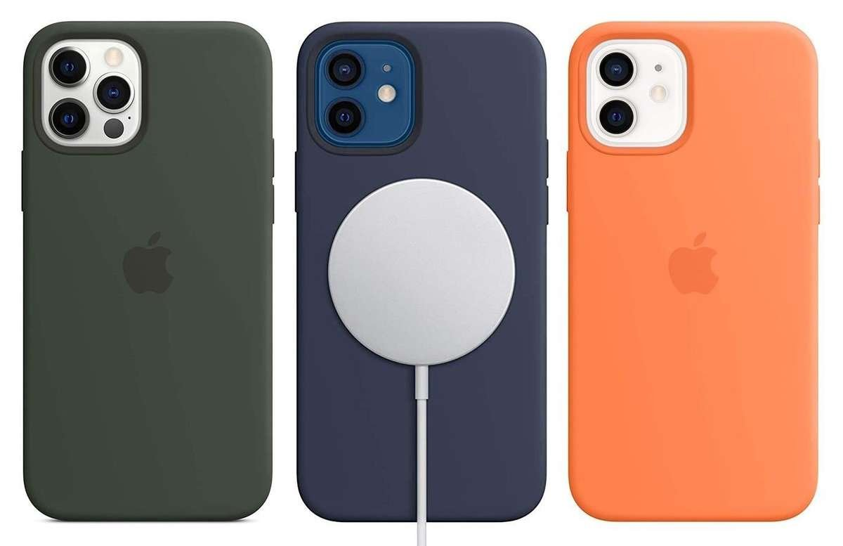 silicon apple iphone 12 case