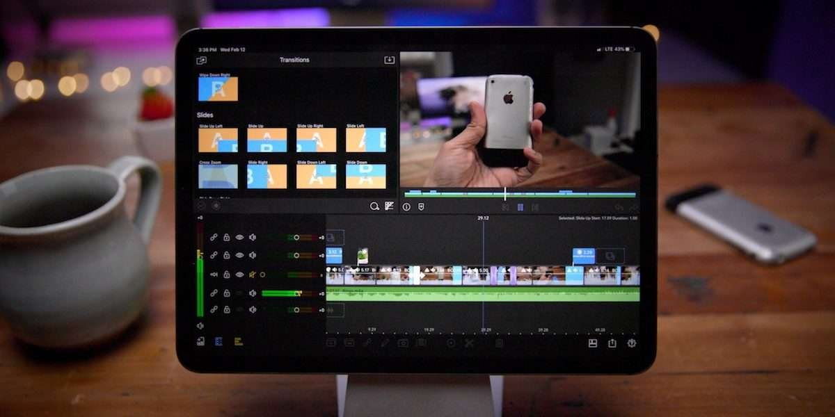 LumaFusion video editing software for iPhone