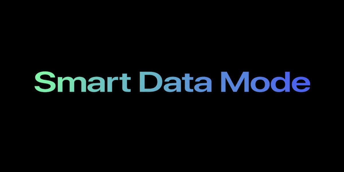 smart data mode iphone 12