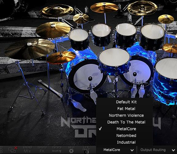 northern artillery drums finnish metal drum vst ugritone. Black Bedroom Furniture Sets. Home Design Ideas