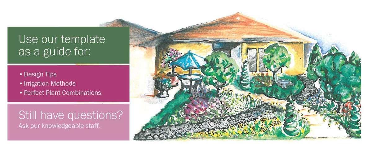 English-Style Landscape House Diagram