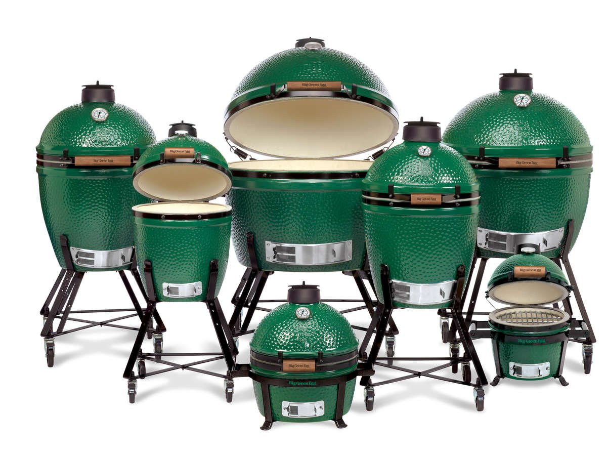 Big Green Egg Family of Sizes