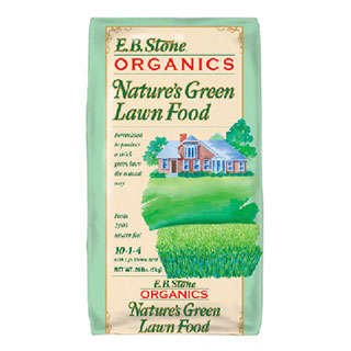 Nature's Green Organic Lawn Fertilizer