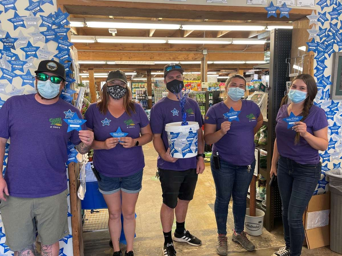 Auburn Team Shares the Many Generous Donations from Customers
