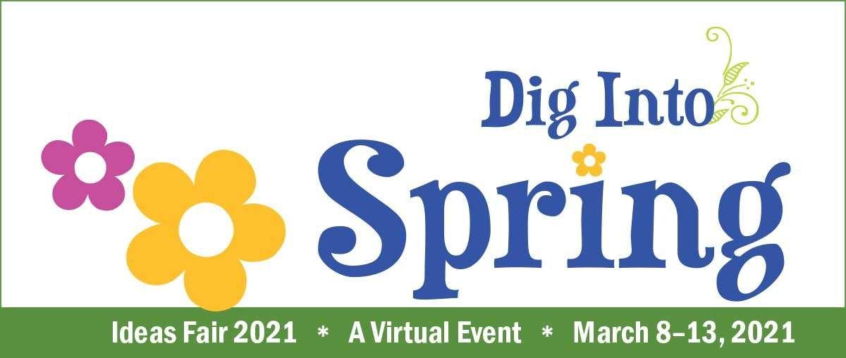 Dig Into Spring Ideas Fair logo