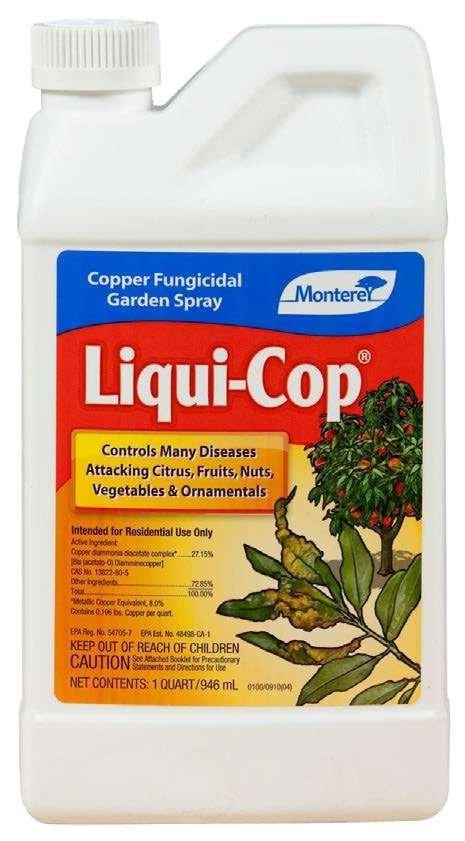 Monterey Liqui-Cop Fungicidal Garden Spray