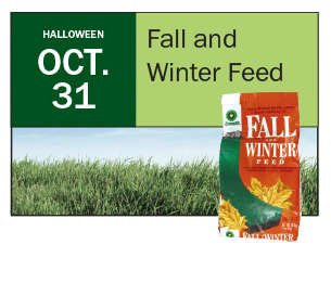 October 31: Apply Fall and Winter Feed