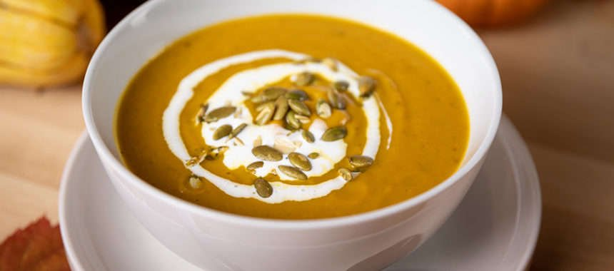 Link to Recipe for Spicy Butternut Squash Soup