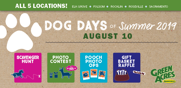 Get info on Dog Days of Summer at Green Acres Nursery & Supply