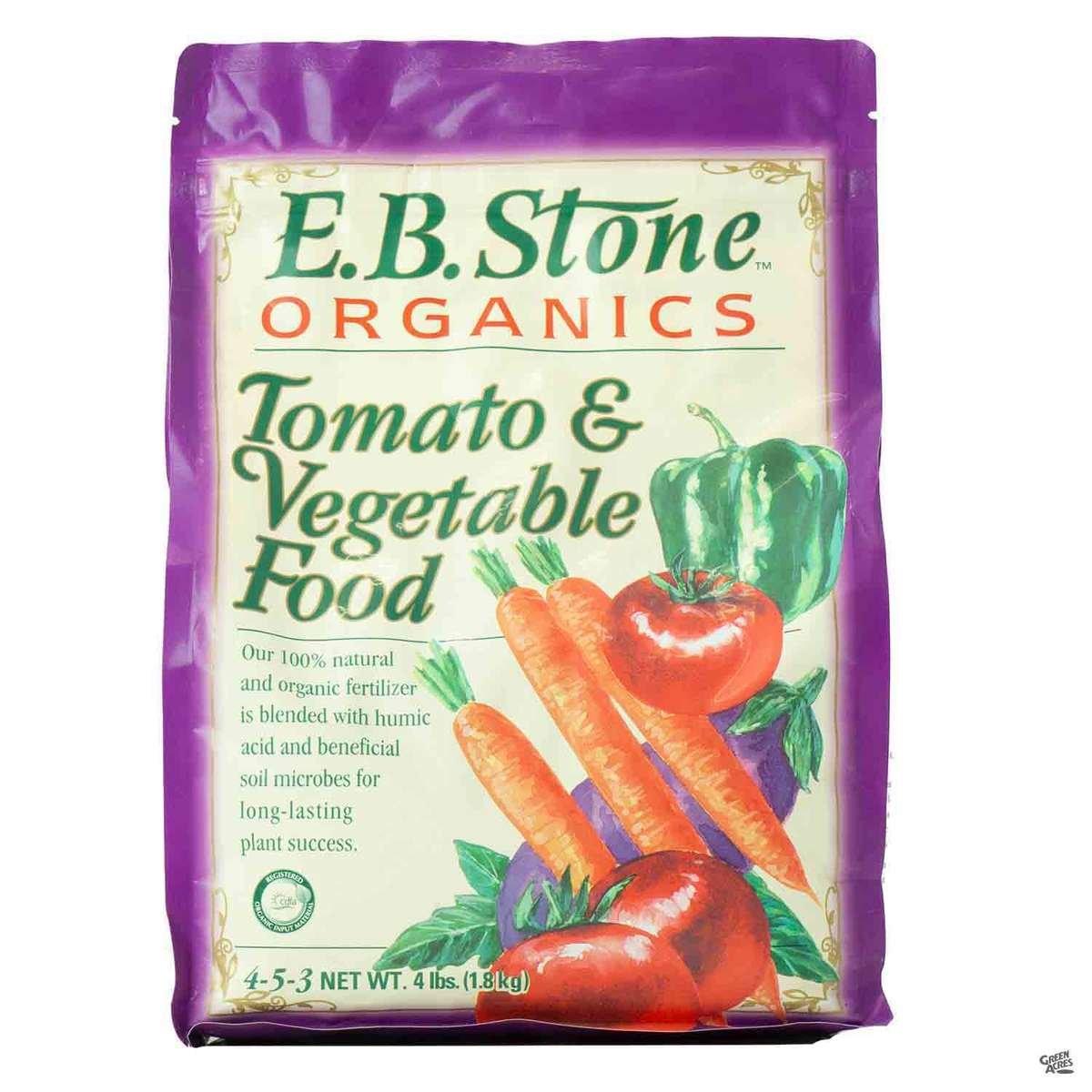 E.B. Stone™ Organics Tomato & Vegetable Food