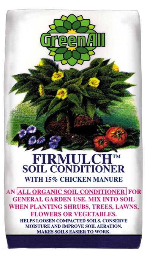 GreenAll® Firmulch™ Soil Conditioner Product Bag