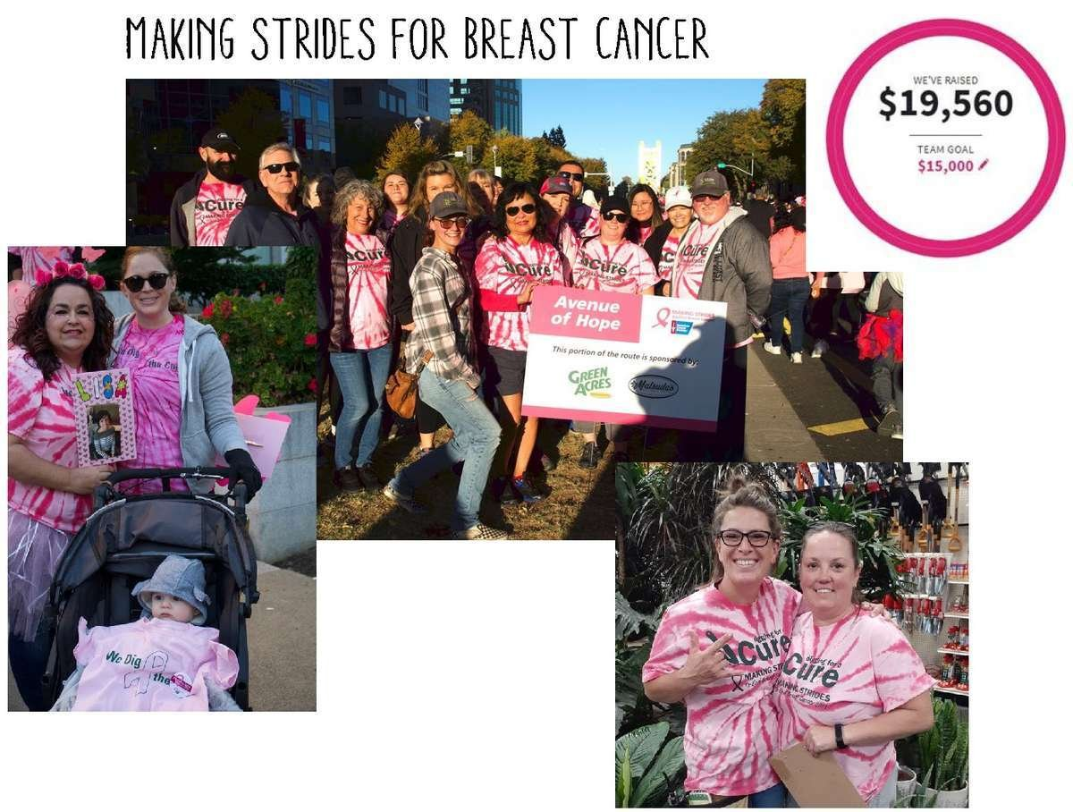 Green Acres Nursery & Supply at Making Strides Breast Cancer Walk