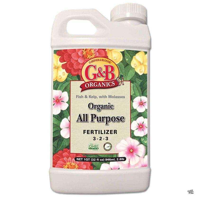 G&B Organics All Purpose Fertilizer