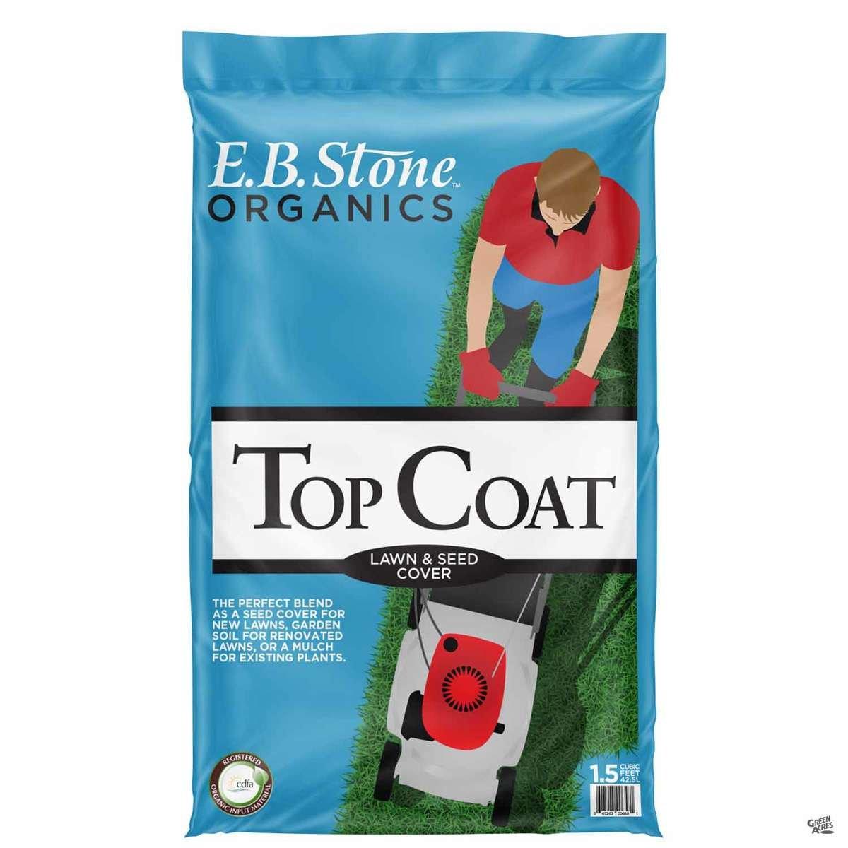 E.B. Stone™ Organics Top Coat Lawn & Seed Cover