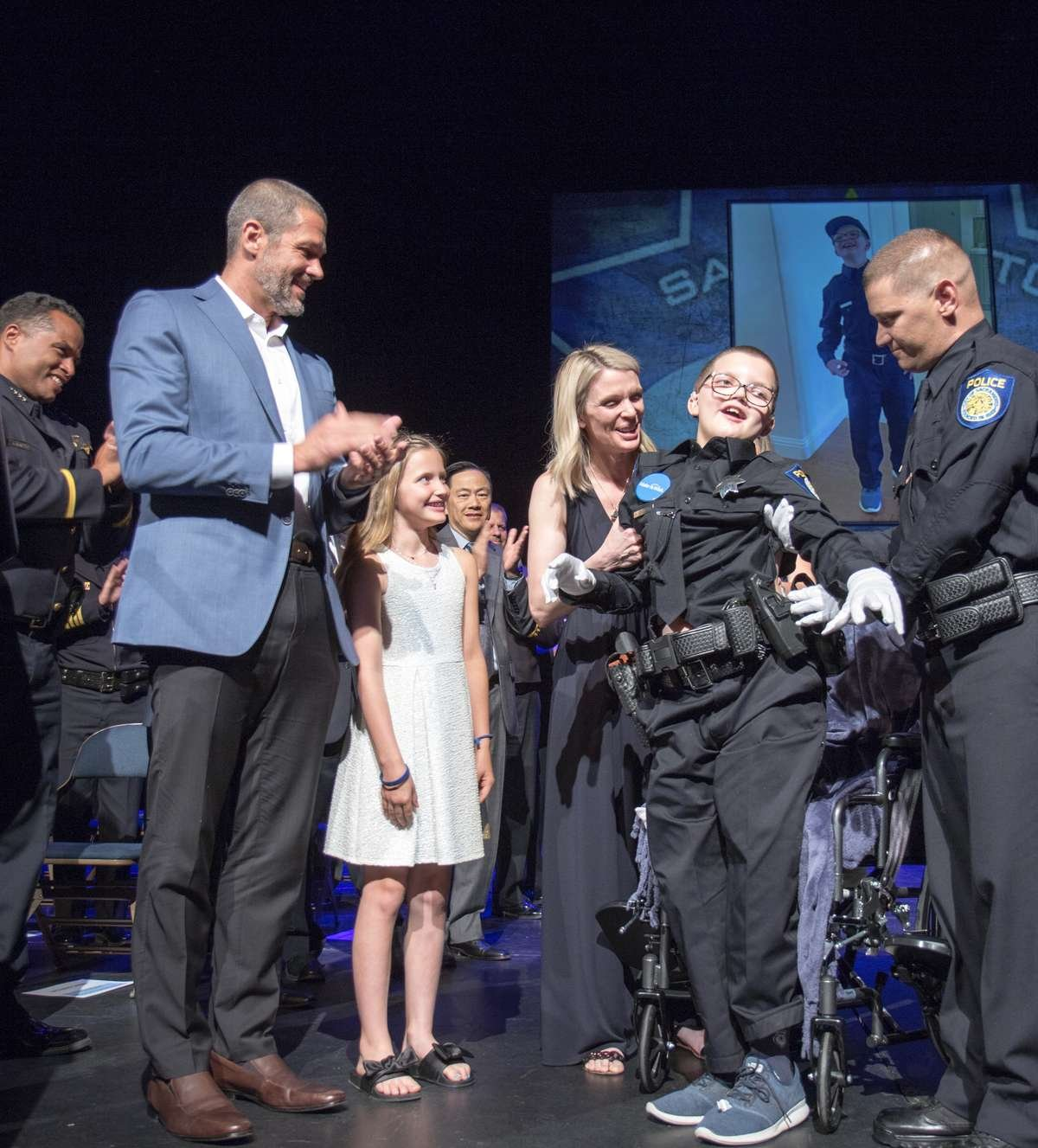 Miller's Police Academy Graduation