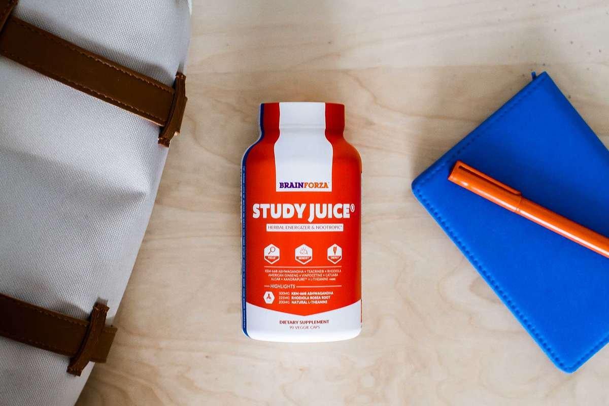Brain Forza Study Juice Nootropic Brain formula