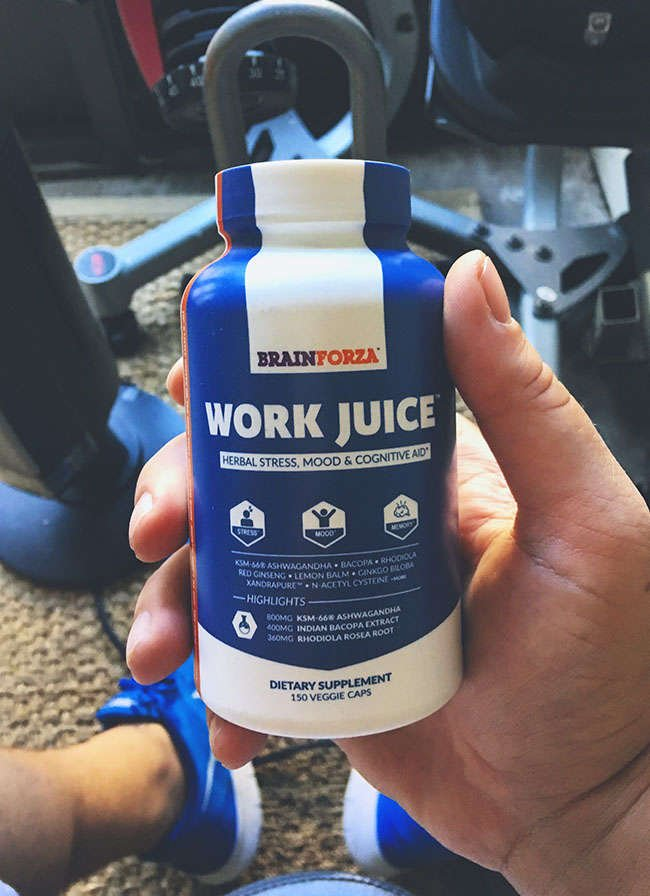 Work Juice Herbal Adaptogen