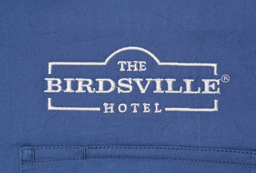 Just Country Custom Embroidery The Birdsville Hotel