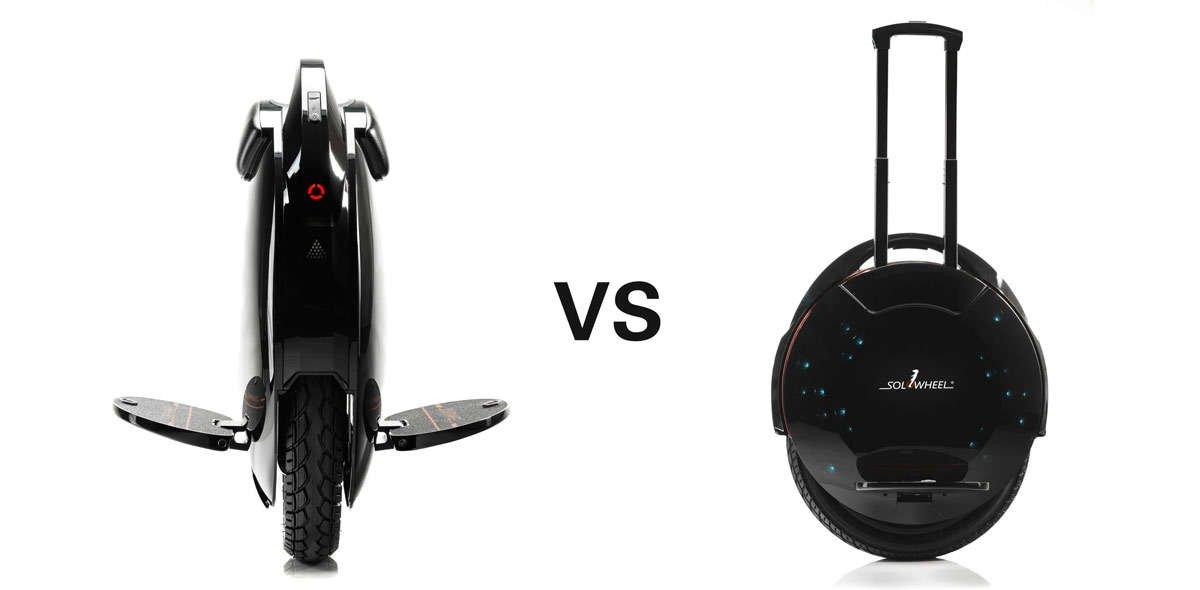 Solowheel Glide 2 vs Glide 3 comparison