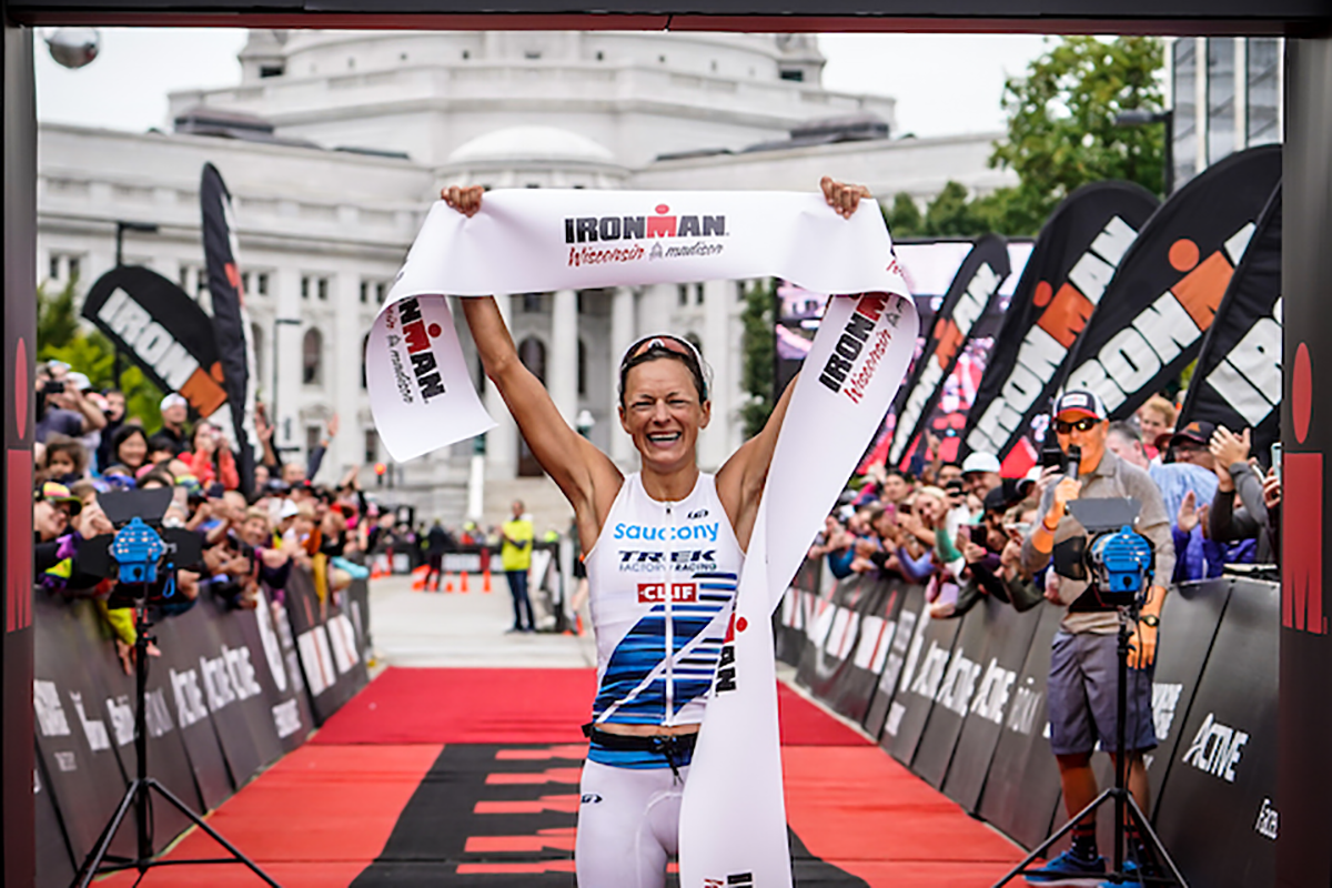 Linsey Corbin Ironman champion and Team Zealios athlete