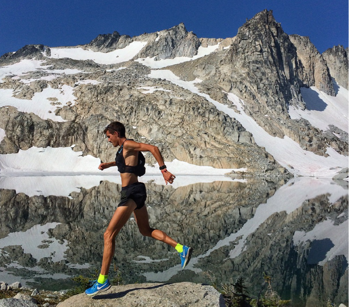 Ultra runner David Laney uses Zealios Sun Barrier