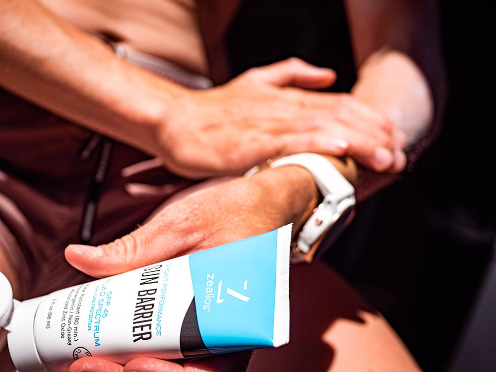 Zealios Sun Barrier sunscreen has 8% zinc oxide