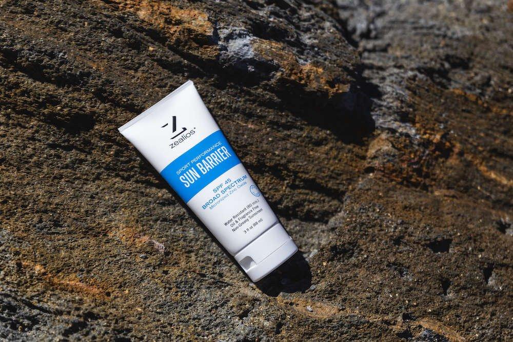 Zealios Sun Barrier SPF 45 zinc sunscreen