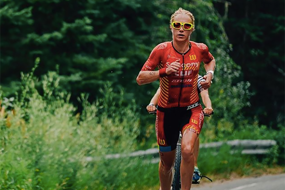 Sarah Piampiano Ironman champion and Team Zealios athlete