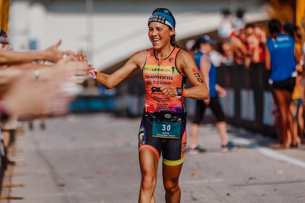 Angela Naeth pro triathlete