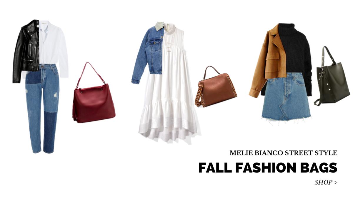 Melie Bianco Handbags Fall Fashion