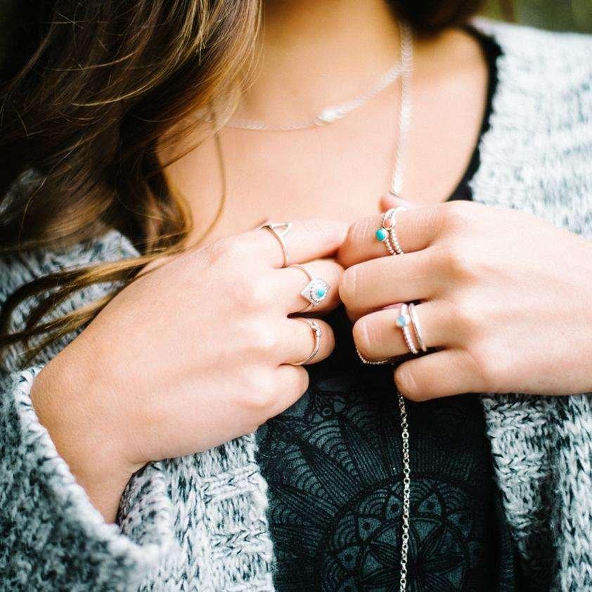 SurfGirl Beach Boutique Tegen Jewellery Steren Turquoise Ring
