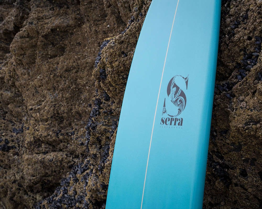 surfgirl beach boutique serra surfboard 7'10