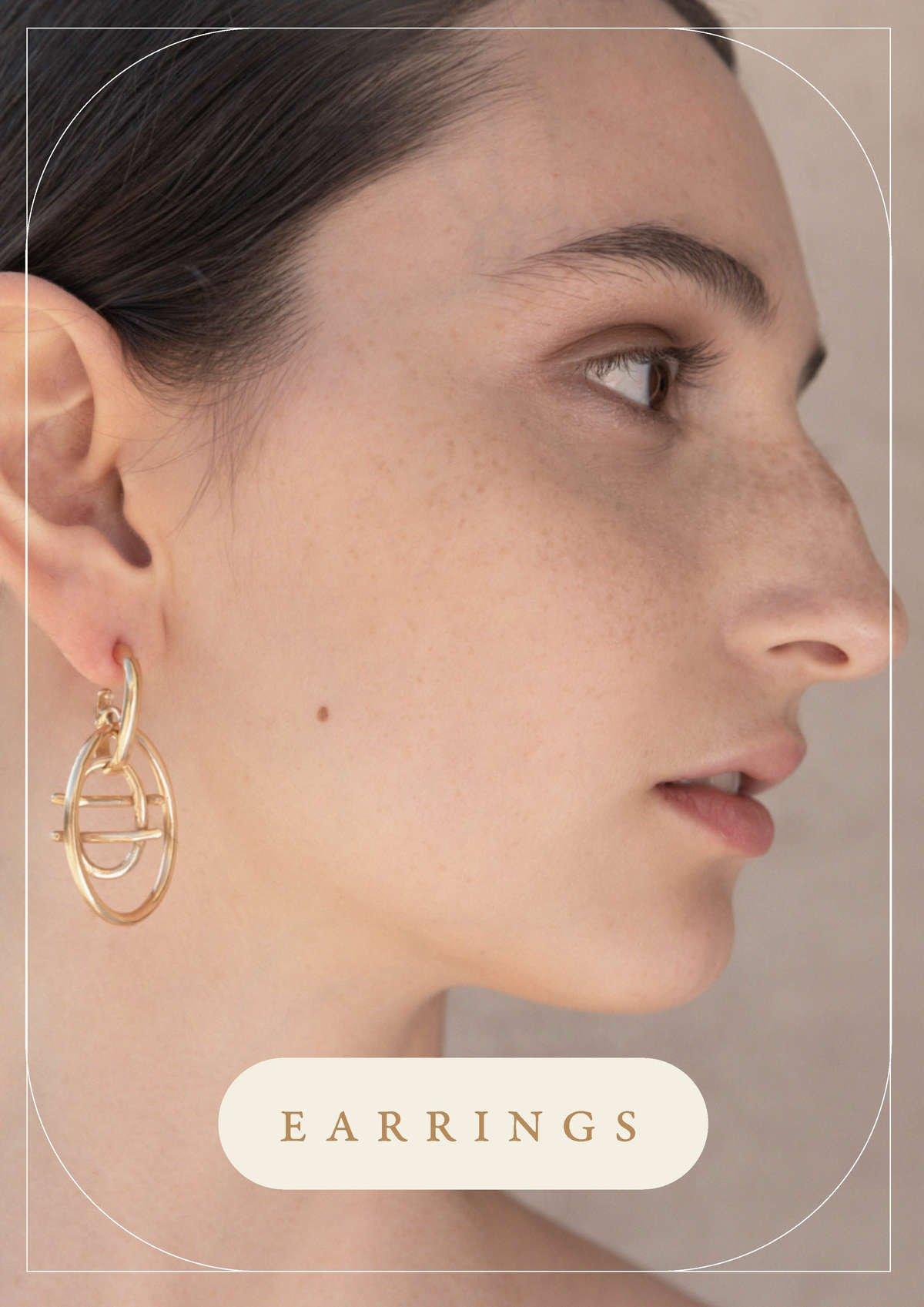 Jewelry Collection Signum | Earrings handmade by Giulia Barela