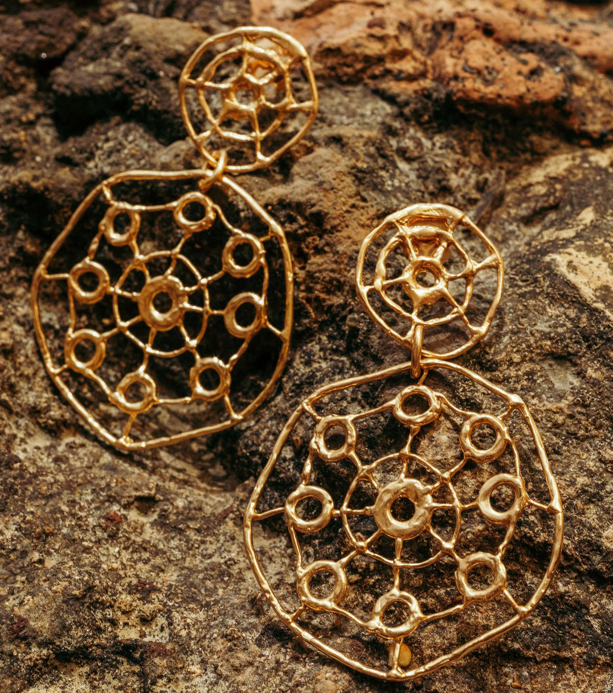 I love Patterns jewelry collection handmade by Giulia Barela in Rome