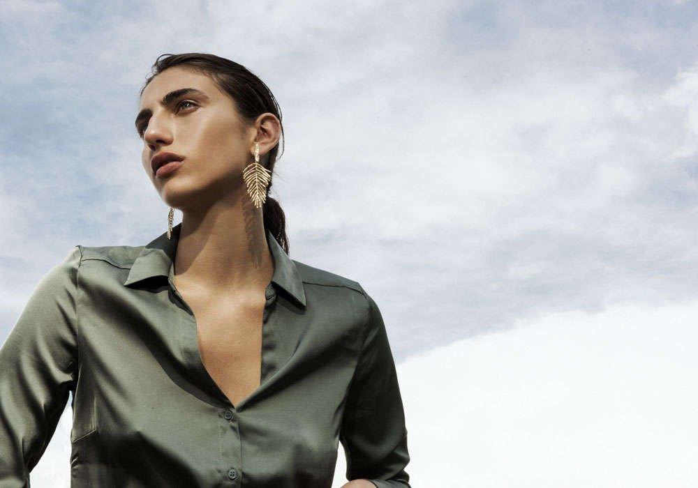 Jewelry Collection Sand | Earrings handmade by Giulia Barela