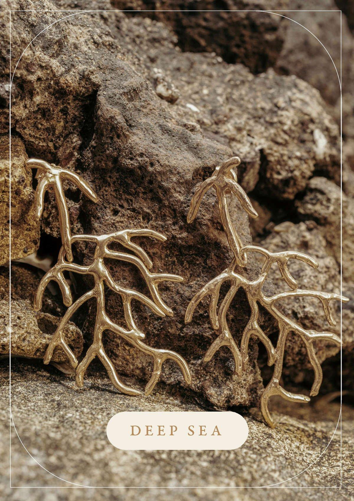 Collezione Deep Sea   Gioielli scultorei fatti a mano da Giulia Barela