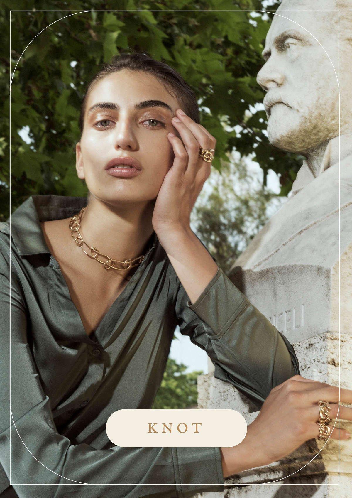 Collezione Knot   Gioielli scultorei fatti a mano da Giulia Barela