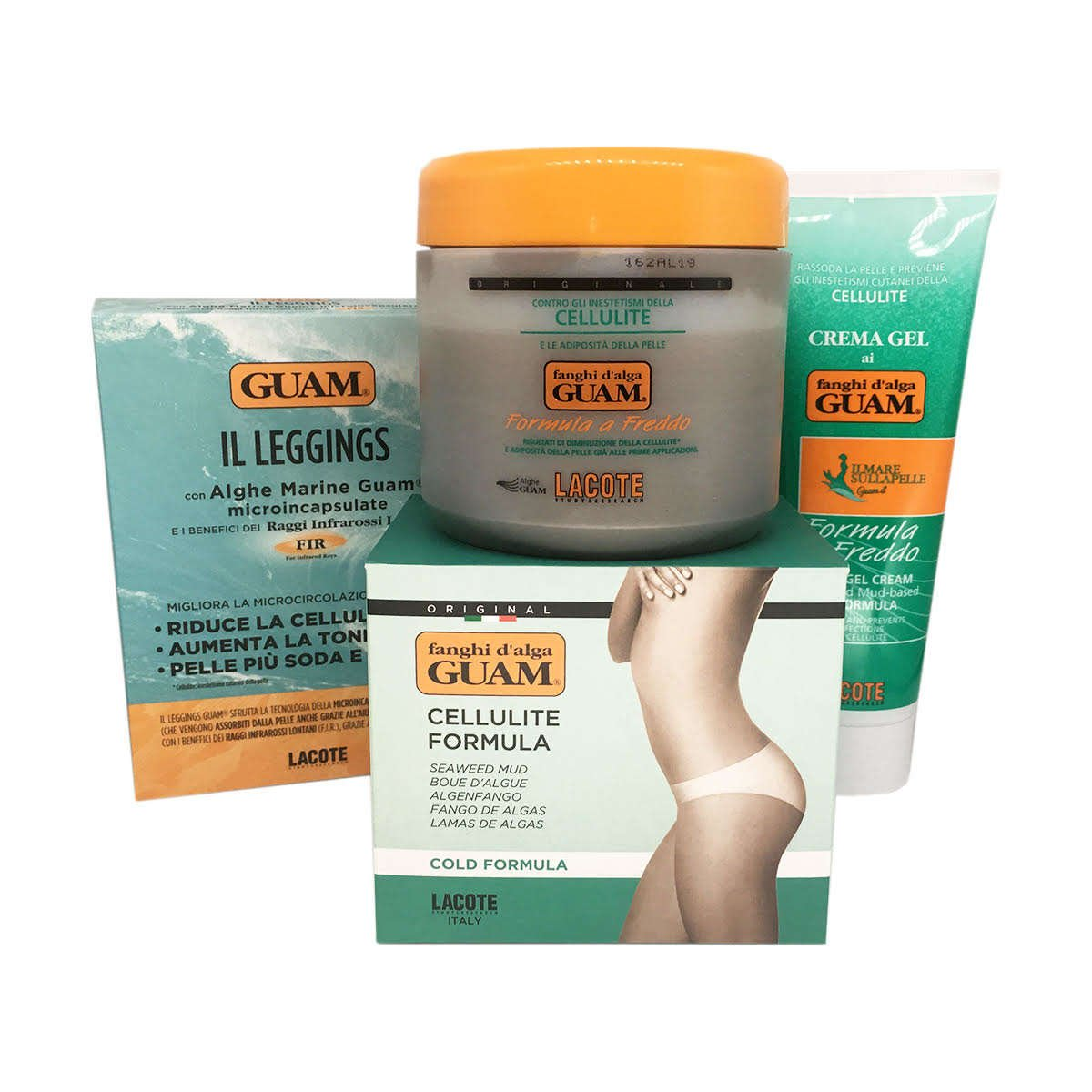Guam cellulite cosmetic anti-cellulite treatment body wrap for legs