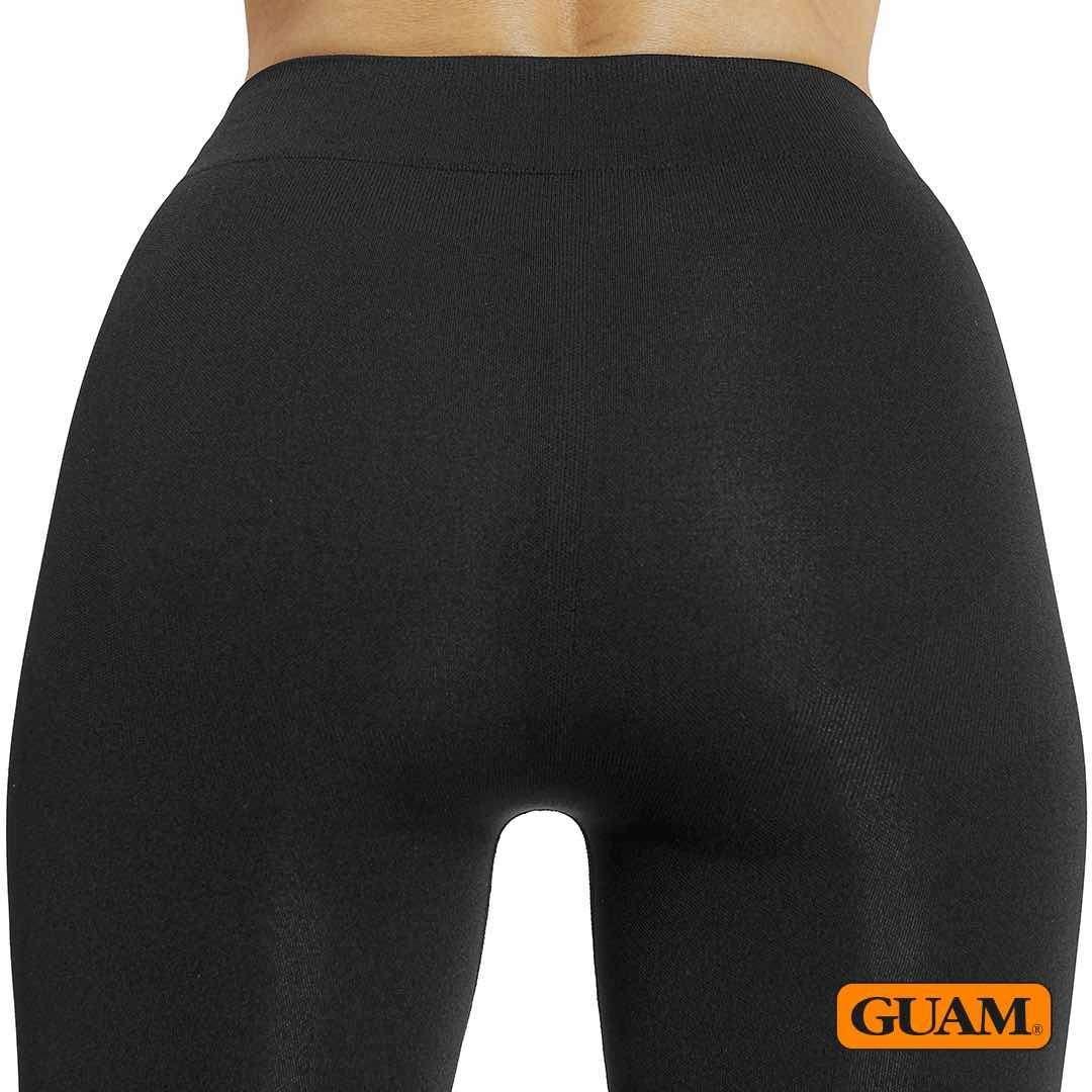 guam  seaweed anti-cellulite leggings capri for women to eliminate cellulite on buttock, butt