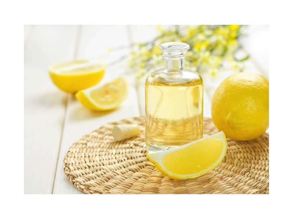essential lemon oil boosts microcirculation and firming skin
