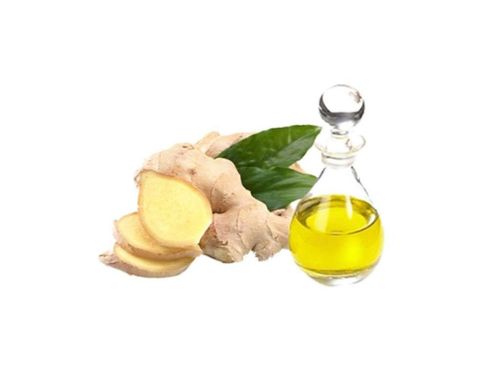 ginger essential oil to boost micro circulation