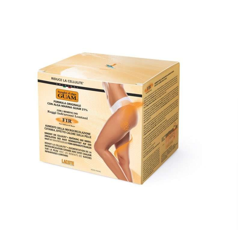 seaweed infrared body wrap for cellulite on legs