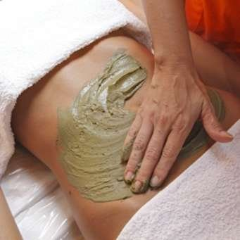 guam seaweed stomach wrapping at home anti-cellulite treatment