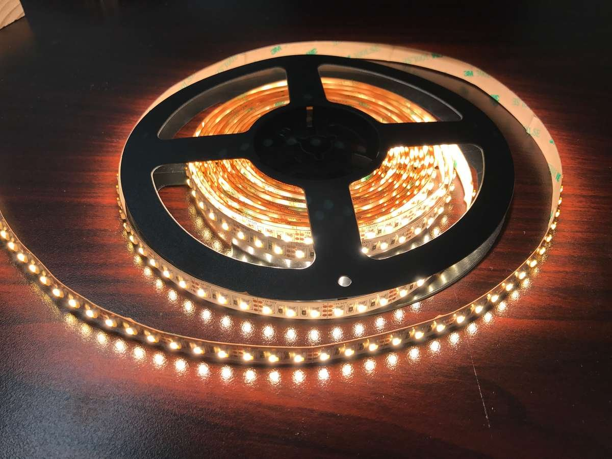 LED Sign illuminated