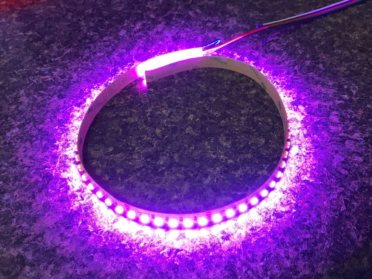pink led strip