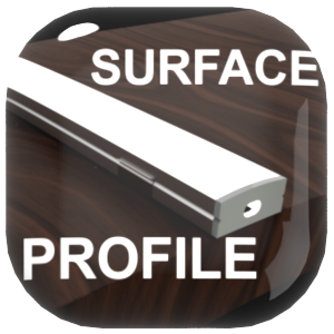 led surface mount profiles