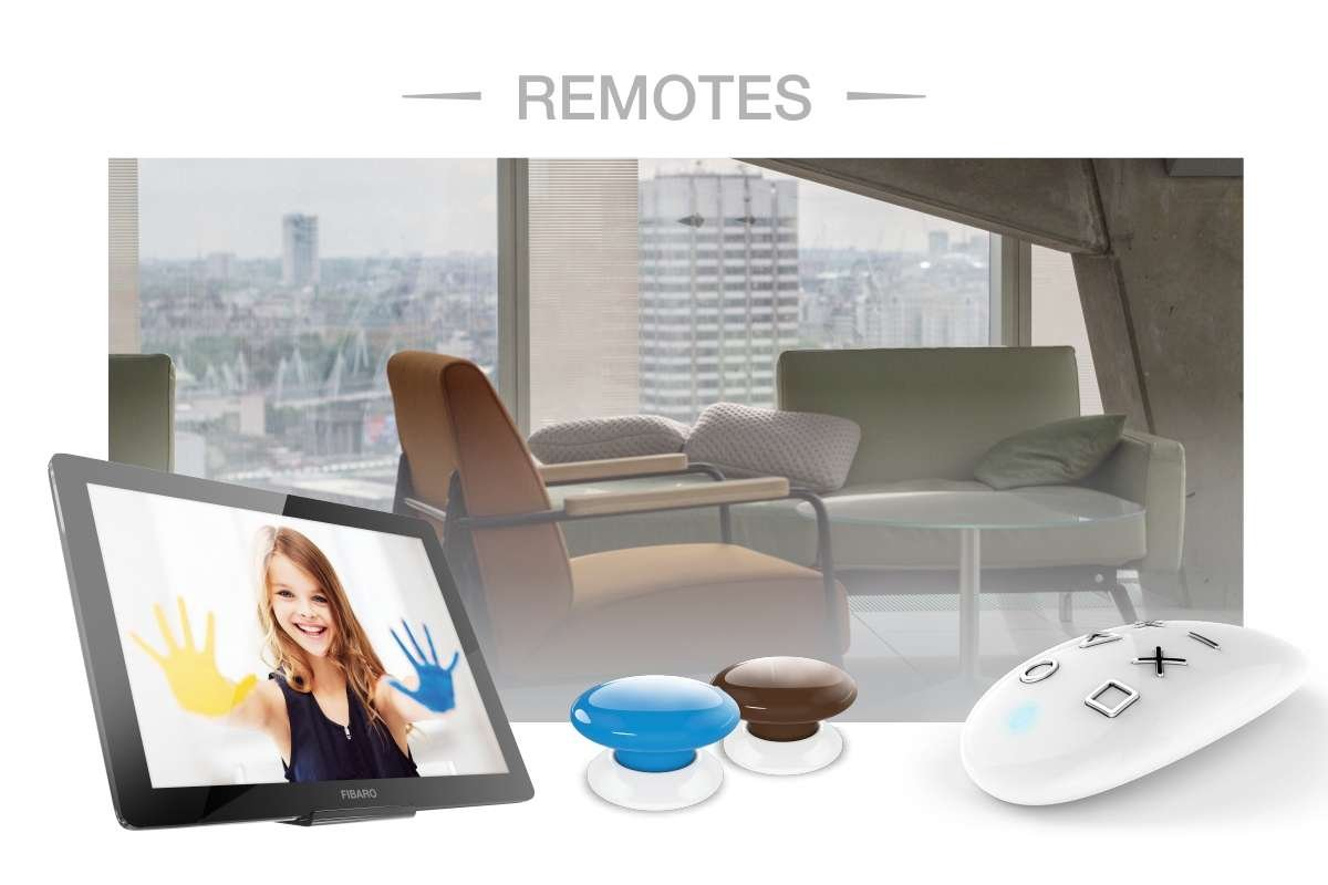 Fibaro remotes banner w4s home automation
