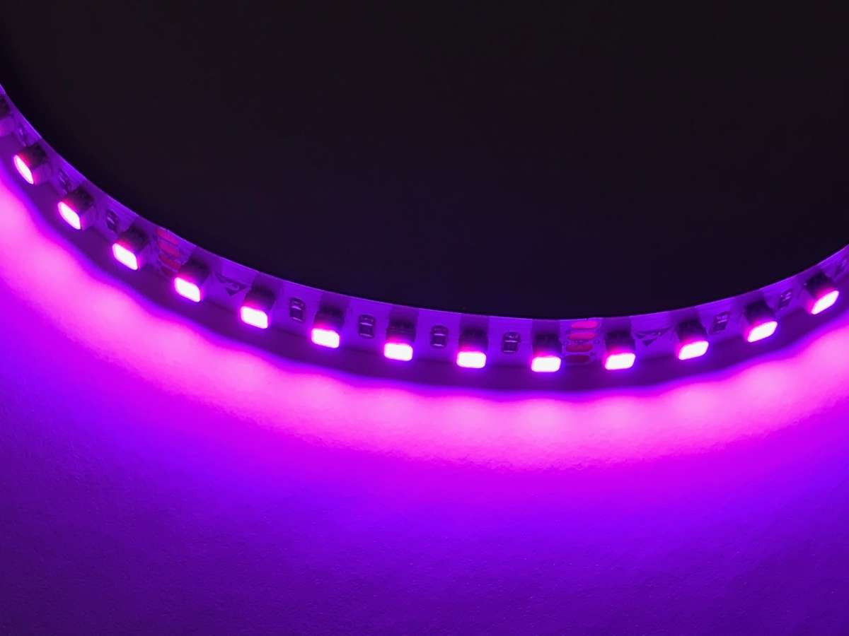 Pink LED Light Strip