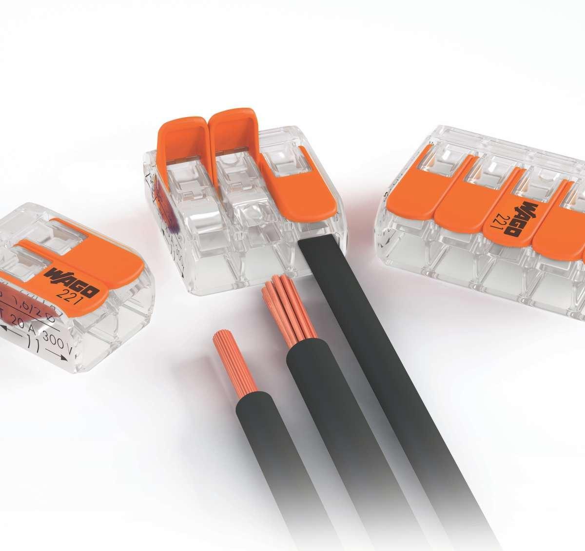 Wago Splicing Connectors